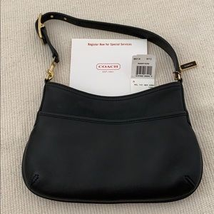 NEW Vintage Coach Leather small Zoe Hobo Bag
